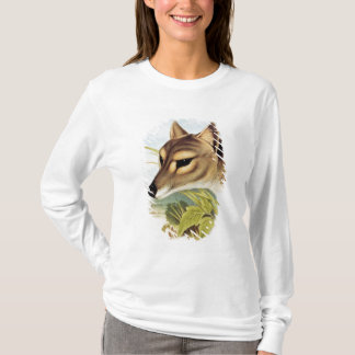 T-shirt Loup ou tigre tasmanien