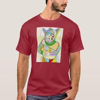 "T-shirt ""Loup solitaire"" par Ruchell Alexandre"