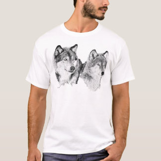 T-shirt Loups solitaires