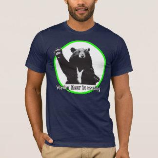 T-shirt L'ours de ondulation ondule