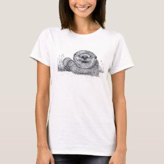 T-shirt Loutre de détente