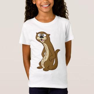 T-Shirt Loutre de Rick | Reggie de garde forestière