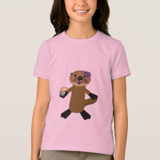T-shirt Loutre d'Olivia