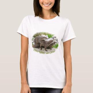 T-shirt Loutres effrontées