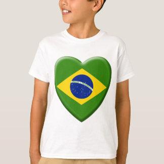 T-shirt Love Brésil