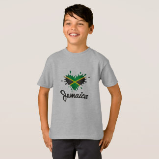 T-shirt Love Jamaica - Proud Jamaicans - jeunes Shirt