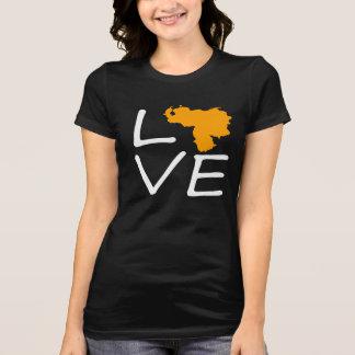 T-shirt love le Vénézuéla