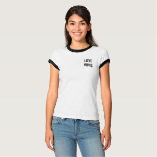 T-shirt Love wins