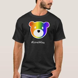 T-shirt #LoveWins de GROWLr foncés