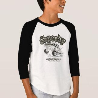 T-shirt Lowriders faits sur commande rapides B/W de
