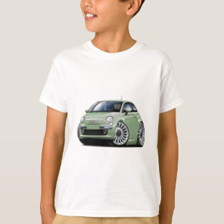 T-shirt Lt Green Car de Fiat 500