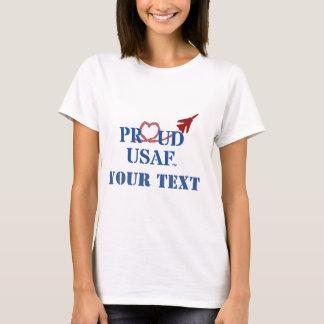 T-shirt L'U.S. Air Force fier customisé - jet avec de la