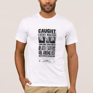 T-shirt Lucius Malfoy a voulu l'affiche