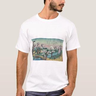 T-shirt Lueur de soirée au pont de Koganei par Ando,