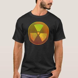 T-shirt Lueur radioactive de symbole nucléaire