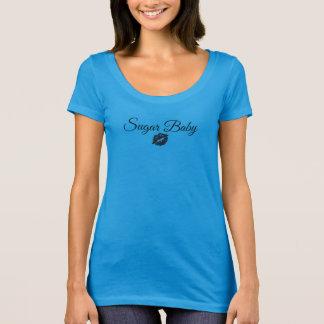 T-shirt LUMIÈRE classique de la femelle T de bébé de sucre