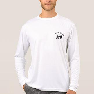 T-shirt Lumière de Microfiber des roues d'Eddie