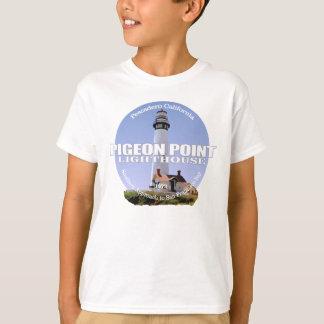 T-shirt Lumière de point de pigeon