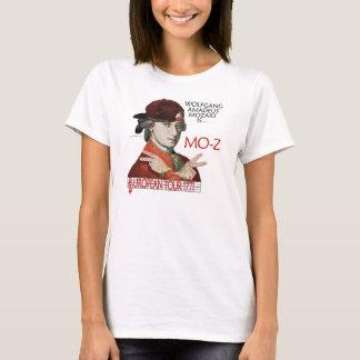 """T-shirt Lumière de s de chemise de Mozart """"MOIS-z"""" visite"""