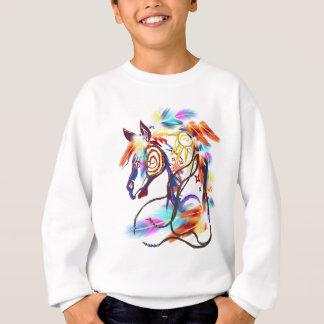 T-shirt lumineux de cheval