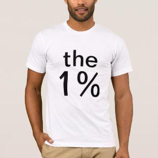 T-shirt l'un pour cent (1%) - anti-occupez Wall Street
