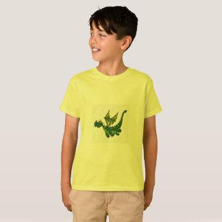 T-shirt lunatique de dragon