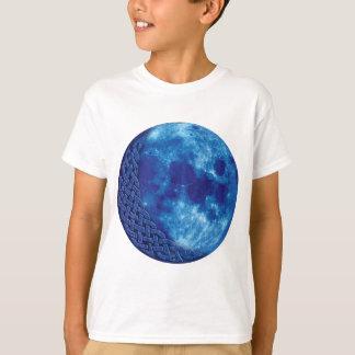 T-shirt Lune bleue celtique