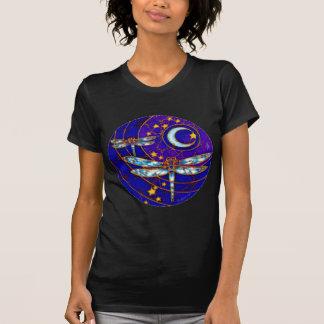 T-shirt lune de libellule