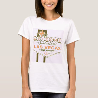 T-shirt Lune de miel de Las Vegas