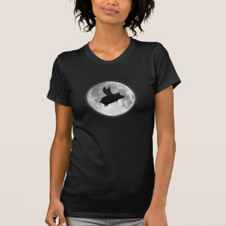 T-shirt lune de porc de vol