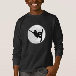 T-shirt Lune de surfeur