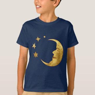 T-shirt Lune et étoiles