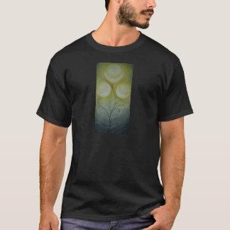 T-shirt lunes de terre rare sur une chemise