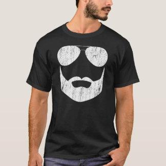 T-shirt Lunettes de soleil de barbe