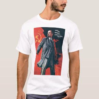 T-shirt L'URSS, Russe, Soviétique, propagande, Lénine
