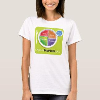 T-shirt L'USDA choisissent mon plat