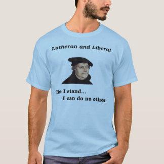 T-shirt luthérien et libéral