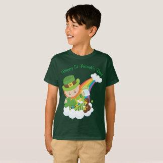 T-shirt Lutin du jour de St Patrick heureux