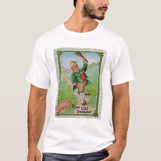 T-shirt Lutin. Image vintage. Le St tapote la célébration