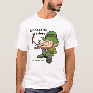 T-shirt Lutin, menace à la sobriété, DA de St Patrick…