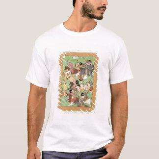 T-shirt Luttez entre les forces de l'Iran et Turan, illus