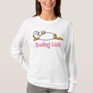 T-shirt luxuriant de Pin de bowling de bowling