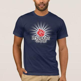 T-shirt Lysdexics délient