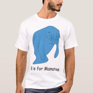 T-shirt M est pour le lamantin