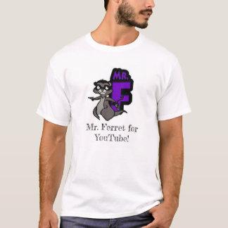 T-shirt M. Ferret pour Youtube