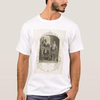 T-shirt M.G.V. Brooke comme Othello et James Bennett comme