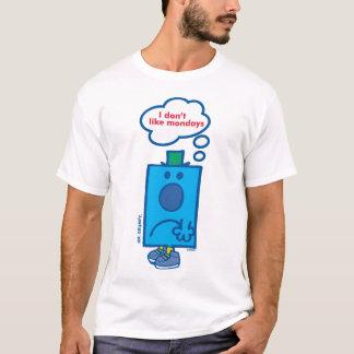 T-shirt M. Grumpy   je n'aime pas la bulle de pensée de