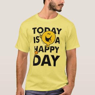 T-shirt M. Happy   est aujourd'hui un jour heureux