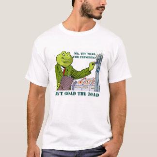 T-shirt M. Le CRAPAUD pour le président !