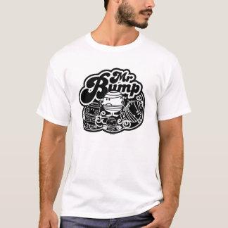 T-shirt M. noir et blanc Bump